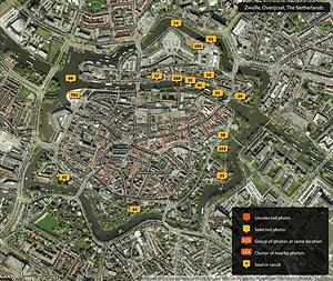 Stadsfestival Photo Map